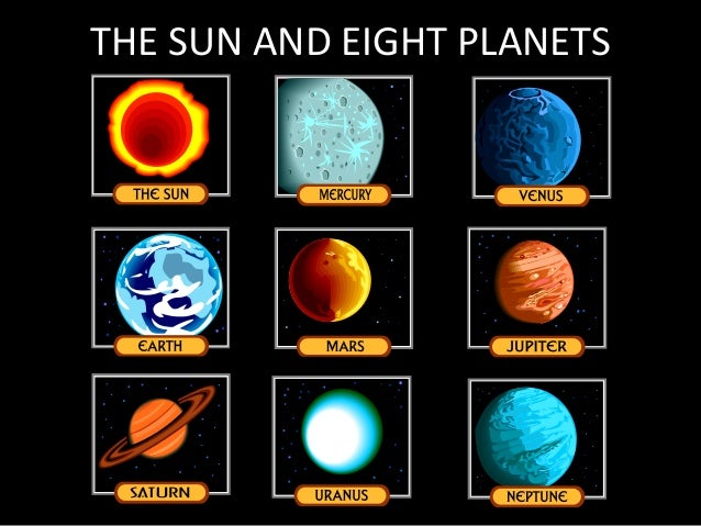 What Are The 8 Planets