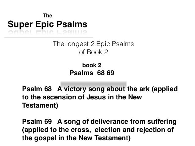 The Super Epic Psalms book 2 - what the longer Psalms point to (Psa…