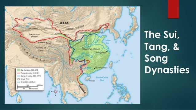 The Song Dynasty — Medieval China