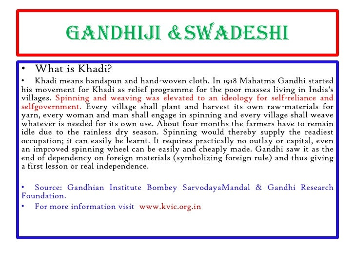 essay on swadeshi and boycott movement The swadeshi movement had its genesis in the anti it beyond the programme of just swadeshi and boycott to a full previous papers and.