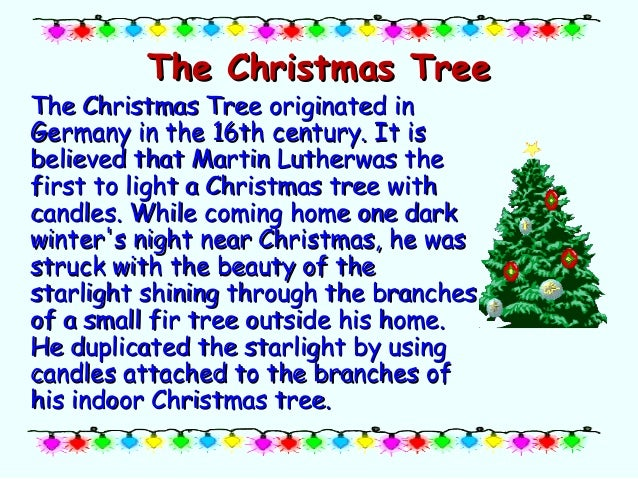 The Symbols And Traditions Of Christmas