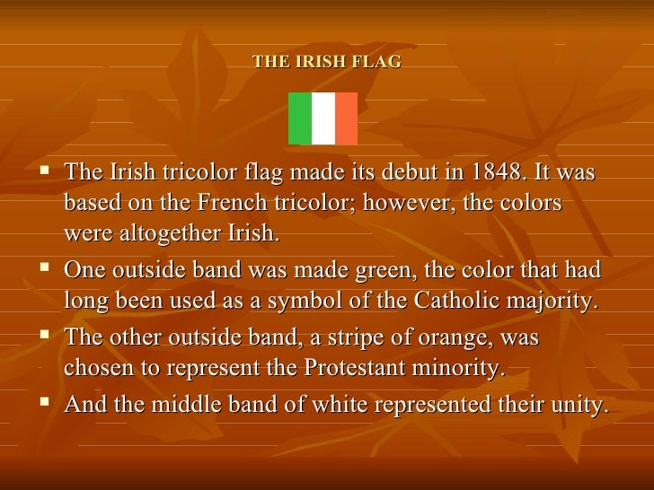 3 the irish flag