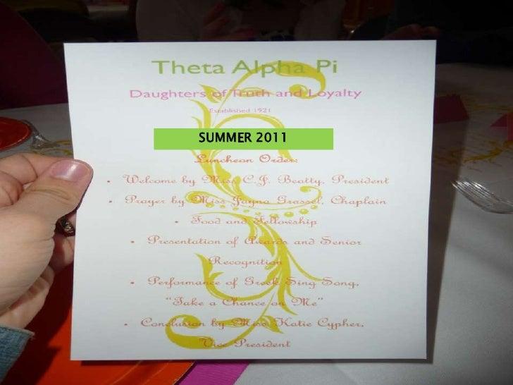 SUMMER 2011<br />