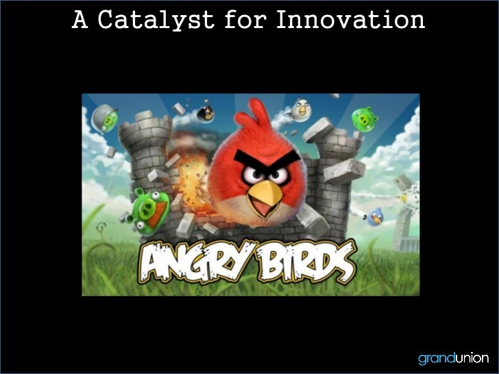 A Catalyst for Innovation