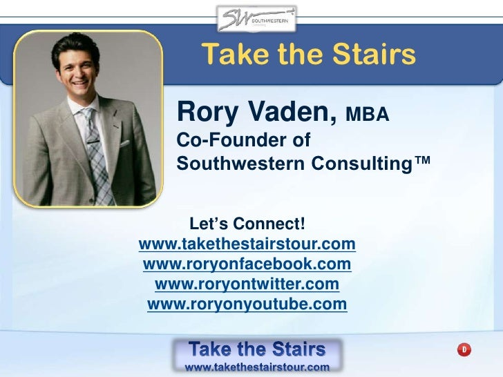 Take the Stairs World Tour<br />Join the tour – Bring a business card – get a free bookmark<br />Support the charities<br ...