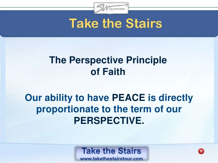 A Take the Stairs Leader<br />Cultivates action by not asking OTHERS to do things that THEY are not willing to do.<br />