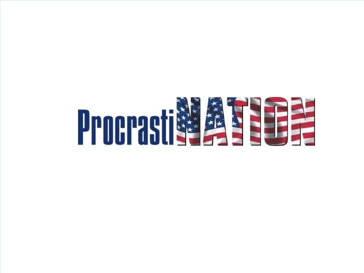 3 Types of Procrastination<br />