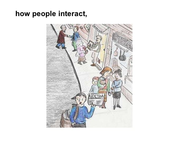 how people interact,