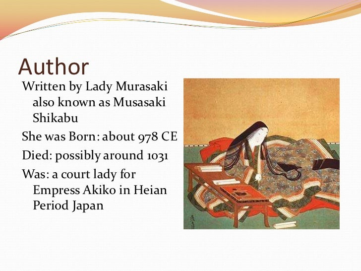 why is the tale of genji considered the first novel