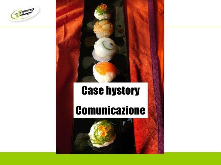Case hystory Comunicazione