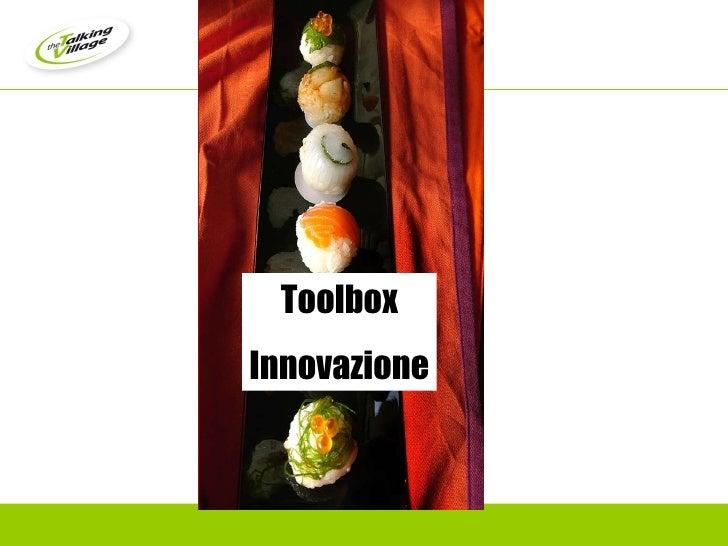 Toolbox Innovazione