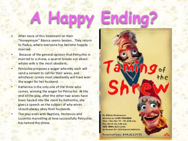 the taming of the shrew gender roles essay The taming of the shrew offers students the opportunity to compare social customs surrounding courtship and marriage from elizabethan england to those of other countries and to modern america the play can promote important discussions about the role of respect, deception, romance.