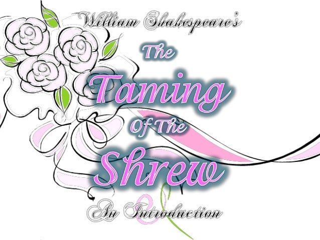 Deception in taming of the shrew