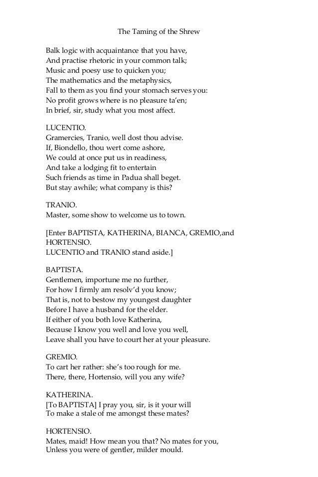 tranio and lucentio relationship quotes