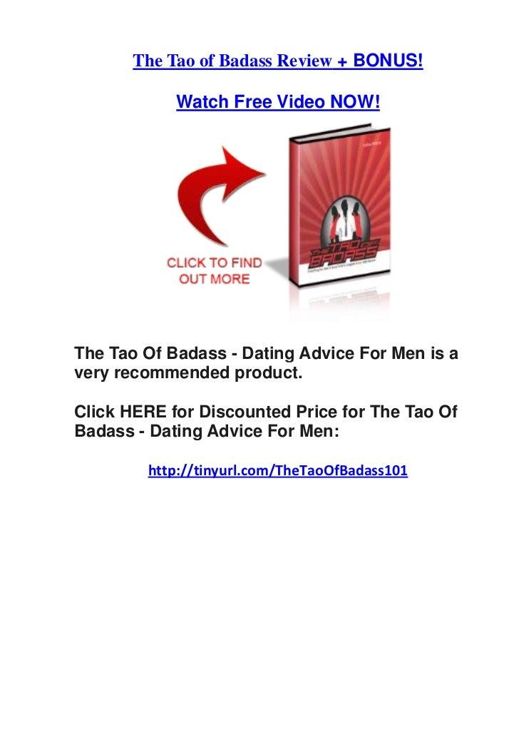 Tao of dating reviews