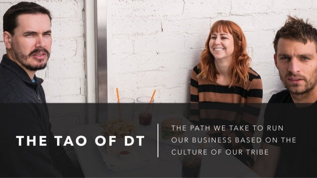 THE TAO OF DT