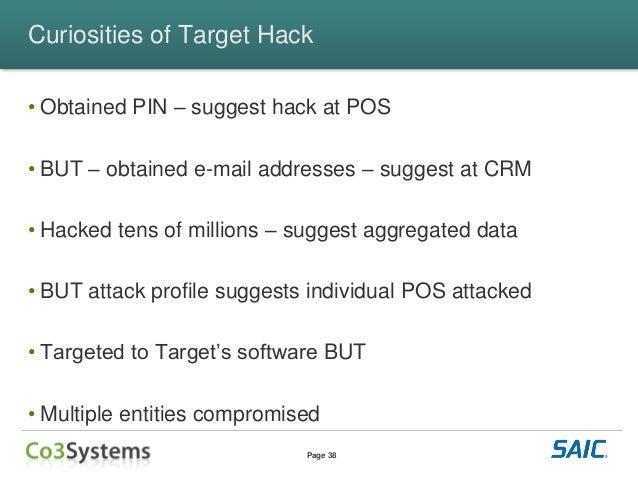The Target Breach Follow The Money