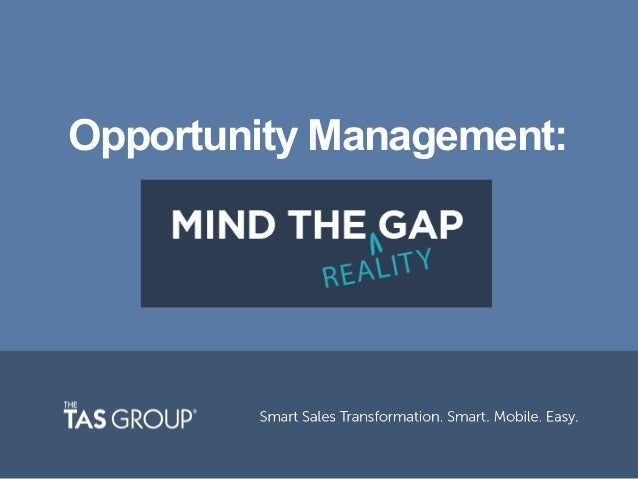 Opportunity Management: