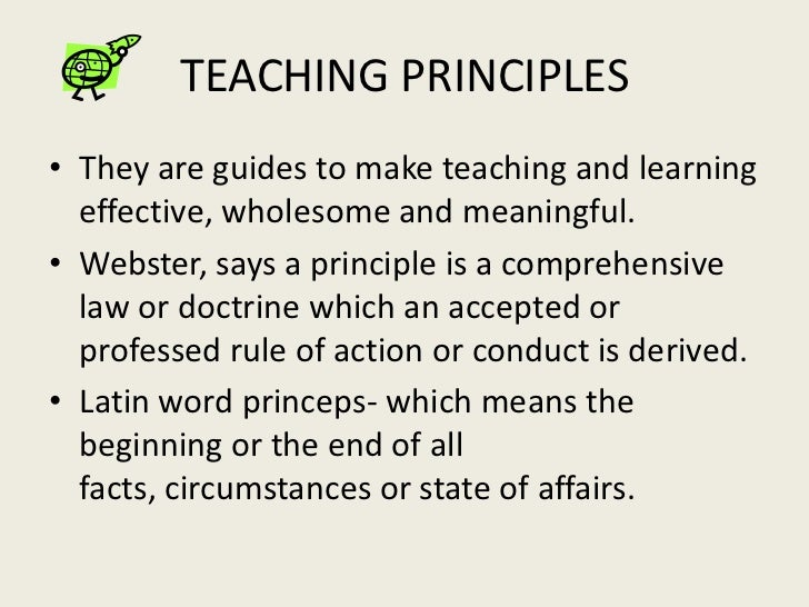 principles of teaching and learning in A principles-based approach for english  populations of countries in which the teaching and learning  a principles-based approach for english language teaching.