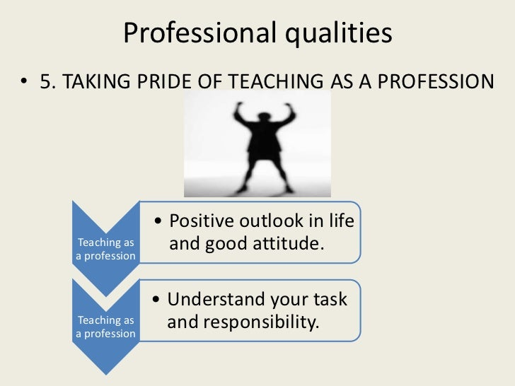 principles of teaching professional