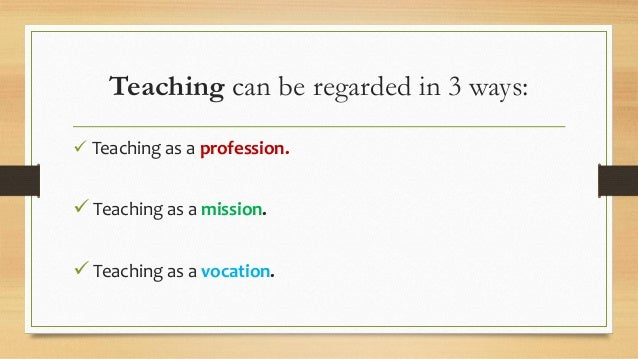 short essay on teaching profession Teaching the short story teacher's packet a ket professional development workshop for educators approved for professional development training by the kentucky department of education.