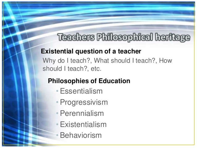 The teaching profession--