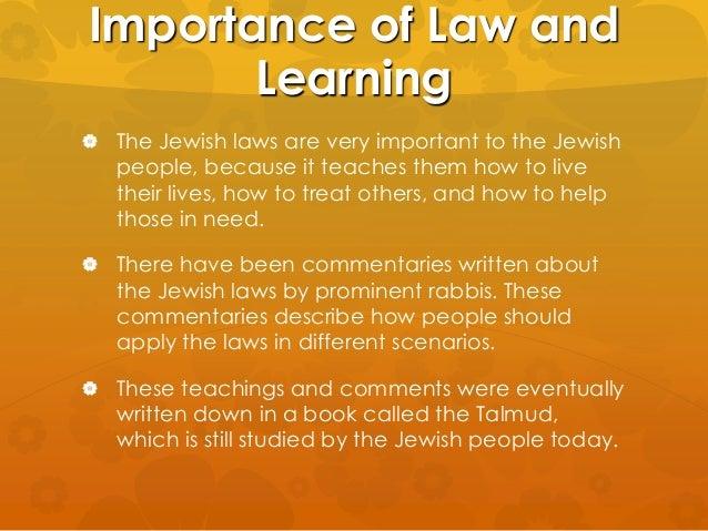 The teachings of Judaism