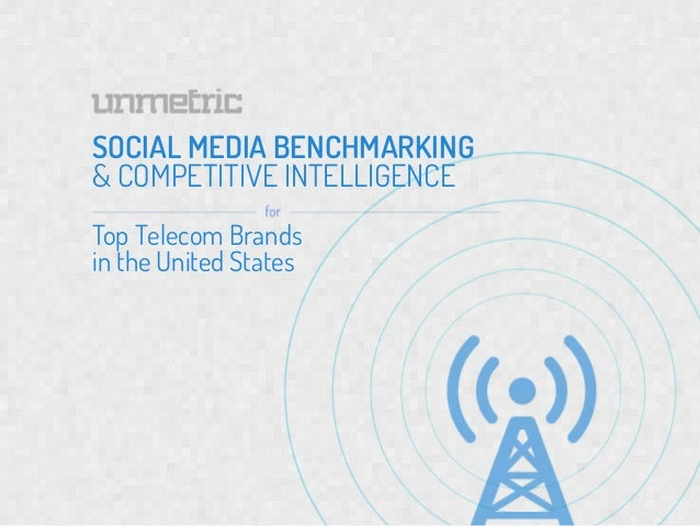 SOCIAL MEDIA BENCHMARKING& COMPETITIVE INTELLIGENCETop Telecom Brands     	  SO	  in the United States