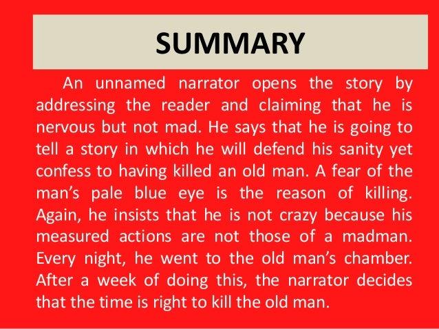 Summary tell tale heart