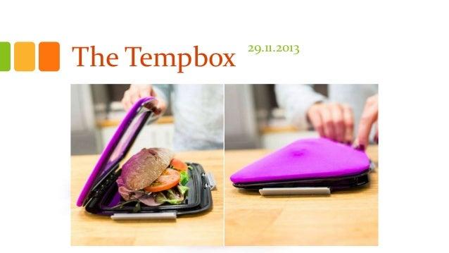 The Tempbox  29.11.2013
