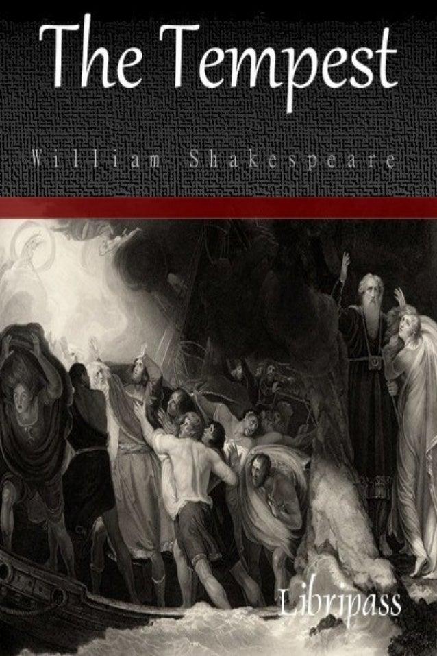 Tempest pdf shakespeare