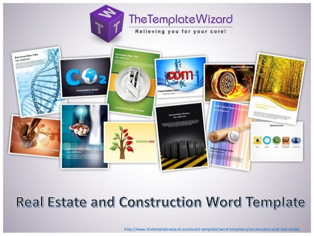 http://www.thetemplatewizard.com/word-template/word-templates/construction-and-real-estate