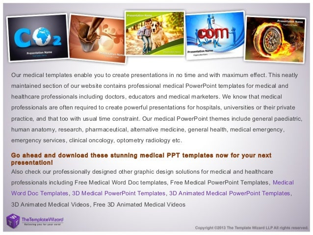 Medical powerpoint template medical ppt template 3 our medical templates toneelgroepblik