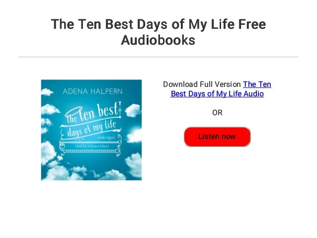 best day of my life free download