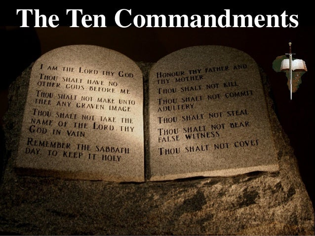an analysis of the ten commandments as the laws of god The first ten of the 613 commandments given by god to the jewish people form  the foundation of jewish ethics, as well as civil and religious law.