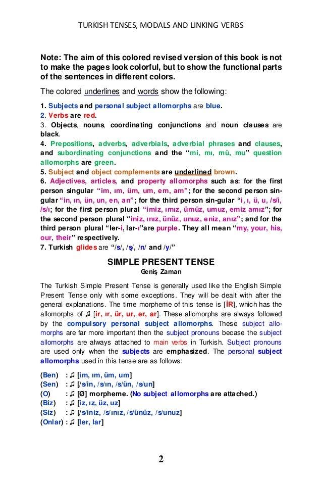 Modals in english dissertation