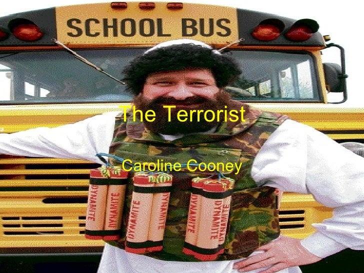 the terrorist by caroline cooney