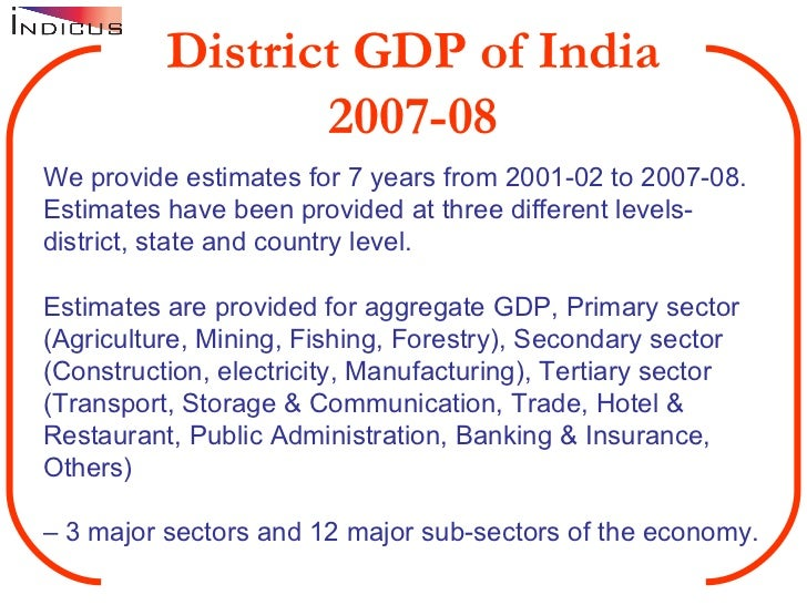 tertiary sector in india