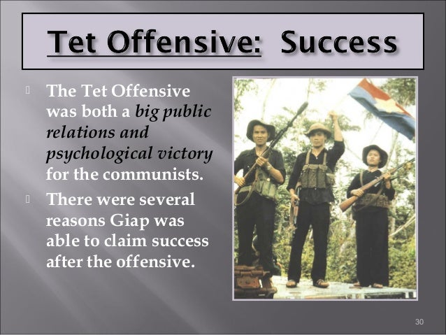 Why was the Tet Offensive the turning point of the Vietnam War?