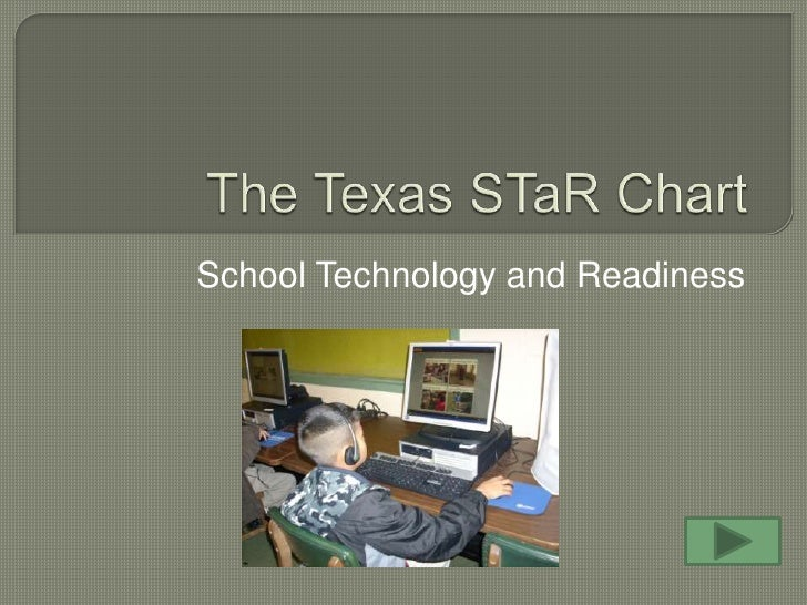 The Texas STaR Chart<br />School Technology and Readiness<br />
