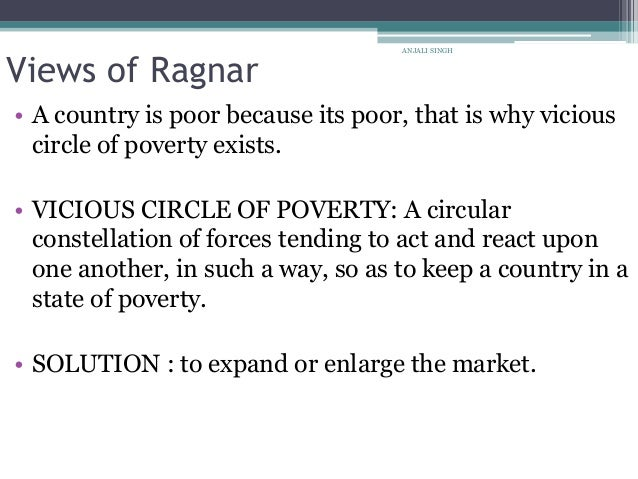 vicious circle of poverty theory pdf