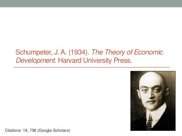 joseph schumpeter theories of economic development and growth economics essay The source of joseph schumpeter's dynamic,  the theory of economic development : an inquiry into profits, capital, credit, interest, and the business cycle translated from the german by redvers opie (1961) new york: oup  papers of joseph alois schumpeter : an inventory.