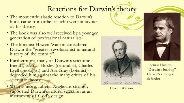 a discussion on the evolution theory according to charles darwin Darwin and natural selection that darwin finally published his theory of evolution in full for his charles darwin was an active collector of.