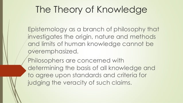 aristotle theory of knowledge