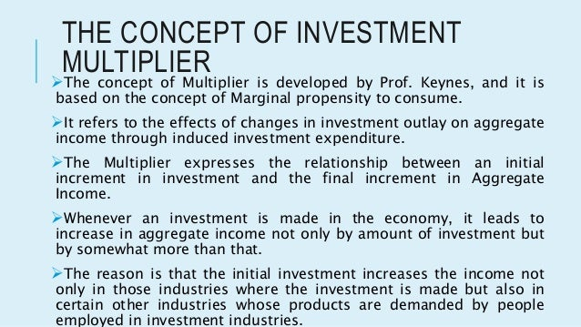 multiplier and accelerator theory essay An essay-- much of it written before harrod even saw a draft of jm keynes's general theory  multiplier and accelerator  multiplier-accelerator .