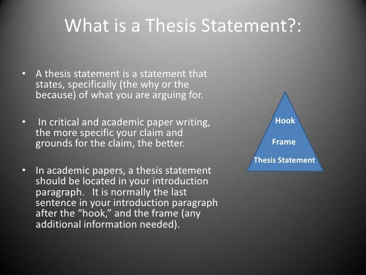 info paper thesis