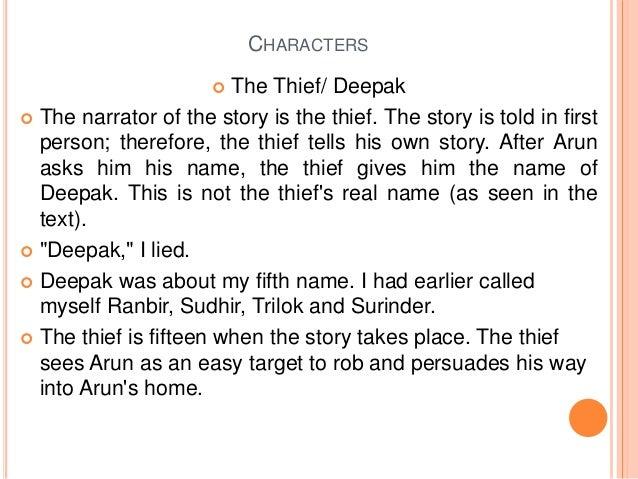 summary of the thief's story