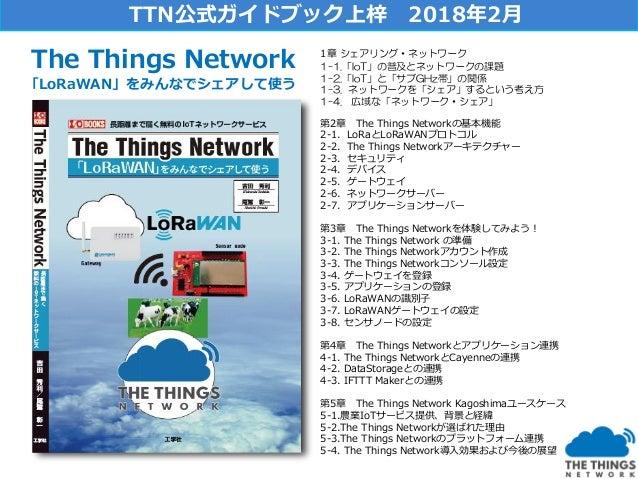 TTN公式ガイドブックを持つTTN創業者の二人