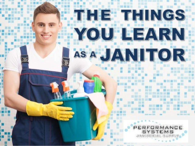 professional janitor