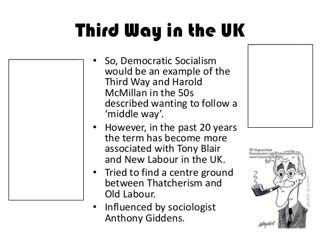 the third ways ideology in britain 19031999  uk politics all aboard the third way  take seriously that the world has changed in fundamental ways over the past 20 or 30 years, giddens explains.